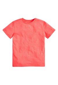 Next - 4 PACK FLURO T-SHIRTS - Basic T-shirt - blue - 3