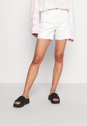 EYA - Denim shorts - white
