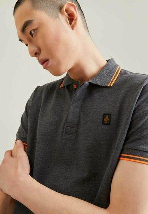 Polo shirt - grigio melange