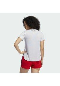 adidas Performance - GO TO TEE  - T-shirt basique - white - 1