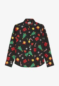OppoSuits - KIDS CHRISTMAS ICONS - Shirt - black - 2