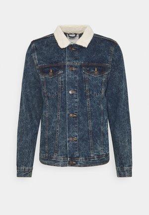 DAMIEN - Denim jacket - dark blue