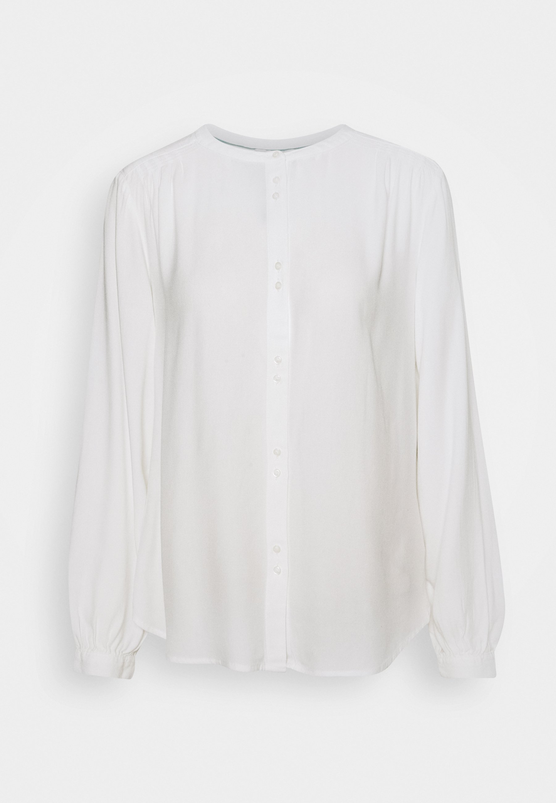 Women BLOUSE WITH BUTTON DETAIL - Blouse