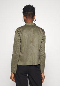 ONLY - ONLFLEUR JACKET - Faux leather jacket - kalamata - 2