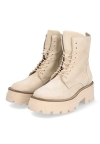 MJUS - Lace-up ankle boots - panna - 2