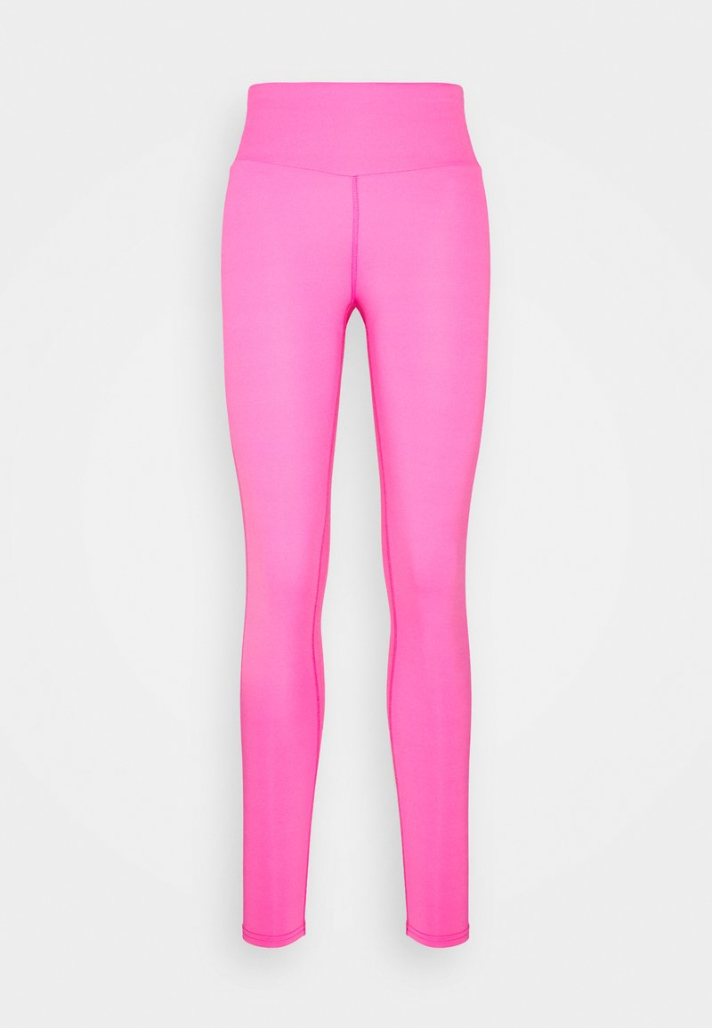 Hey Honey - LEGGINGS  - Punčochy - neon pink