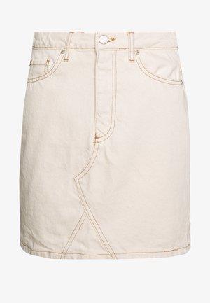 Spódnica trapezowa - ecru