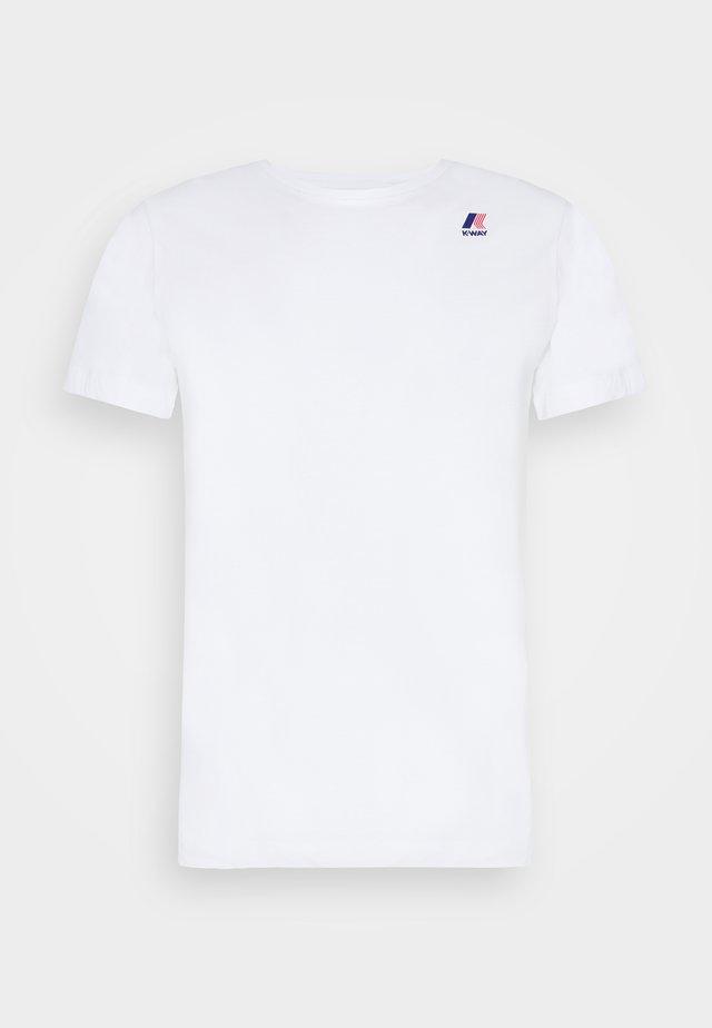 LE VRAI EDOUARD UNISEX - T-shirt basic - white