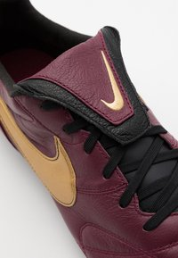 Nike Performance - PREMIER - Moulded stud football boots - dark beetroot/metallic gold/black - 5