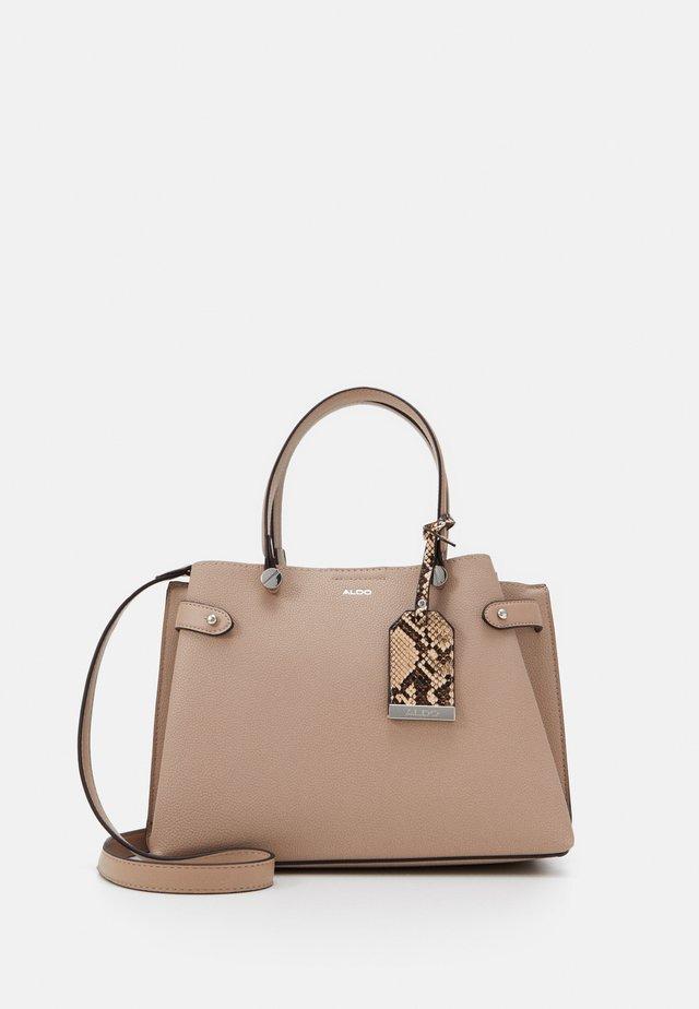 GLAMM - Handbag - dark beige