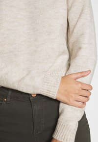 Even&Odd - CROPPED JUMPER - Svetr - beige - 4