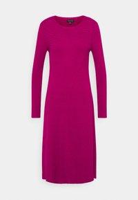 Who What Wear - PANEL DRESS - Jumper dress - magenta - 5