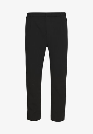 MARD TROUSERS - Stoffhose - black