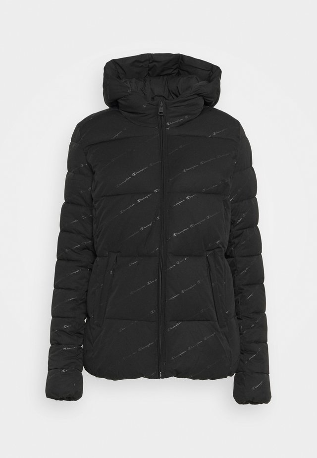 HOODED JACKET LEGACY - Verryttelytakki - black