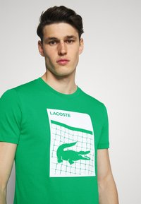 Lacoste Sport - GRAPHIC - Triko spotiskem - palm green - 3