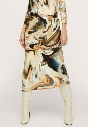 A-line skirt - crudo