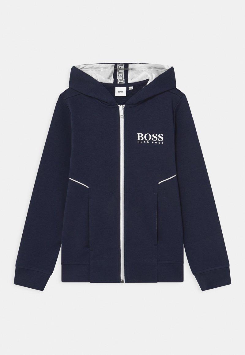 BOSS Kidswear - Zip-up hoodie - navy