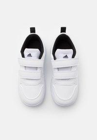 adidas Performance - TENSAUR UNISEX - Zapatillas de entrenamiento - footwear white/core black - 3