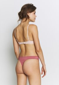 Anna Field - Samira 3 pack thong - String - pink/rose/nude - 3