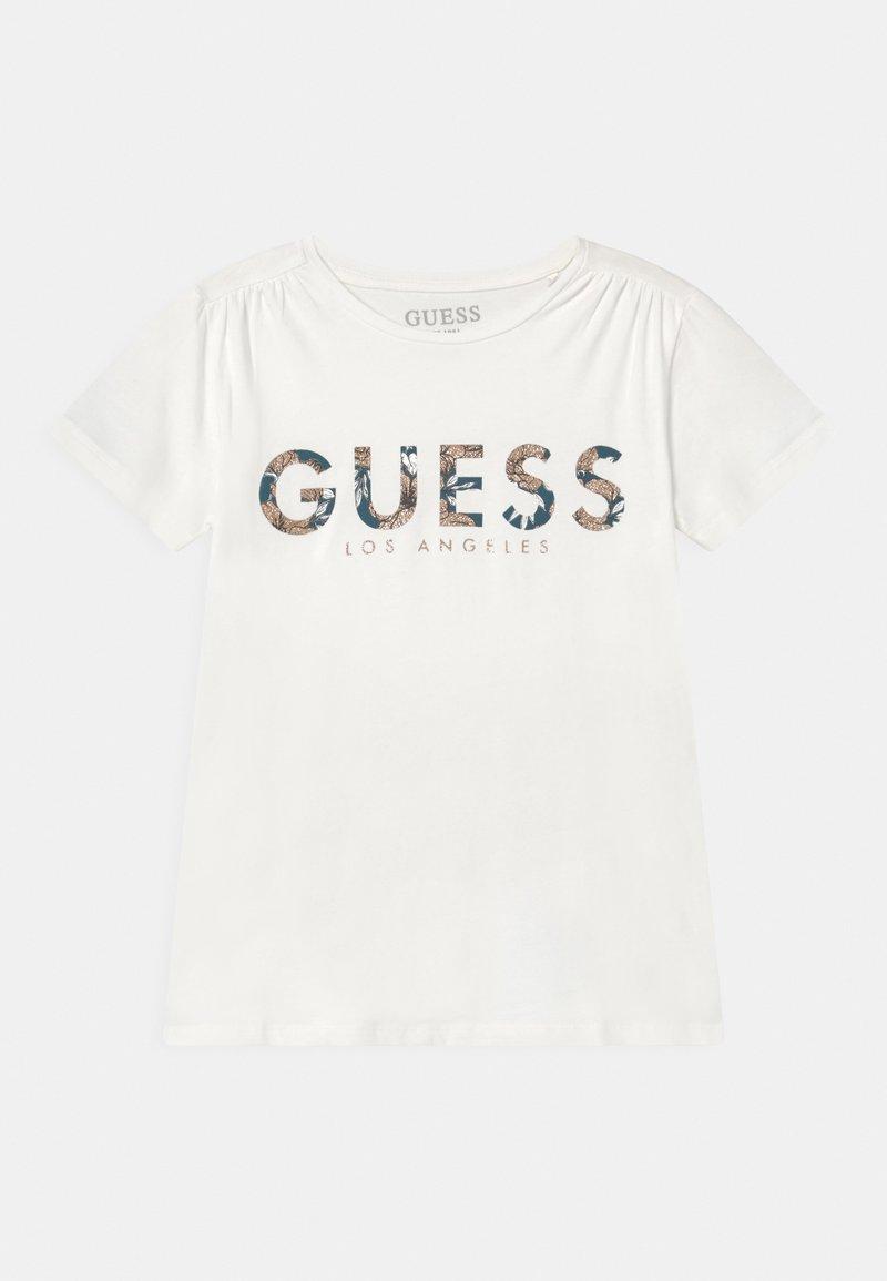 Guess - JUNIOR  - Camiseta estampada - white