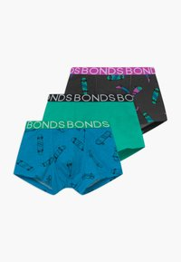 Bonds - TRUNK 3 PACK - Boxerky - blue/turquoise - 0