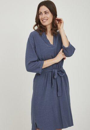 Shirt dress - vintage indigo