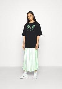 Even&Odd - Camiseta estampada - black - 1