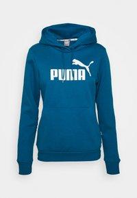 Puma - LOGO HOODY - Jersey con capucha - digi blue - 5