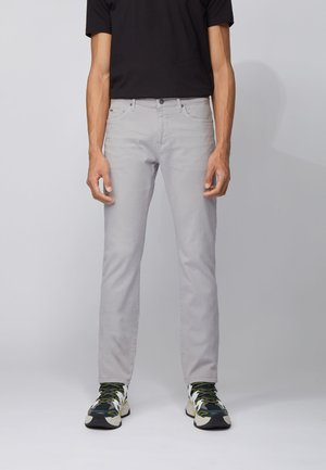 DELAWARE - Slim fit jeans - open grey
