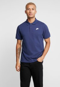 Nike Sportswear - M NSW CE POLO MATCHUP PQ - Polo - midnight navy/white - 0