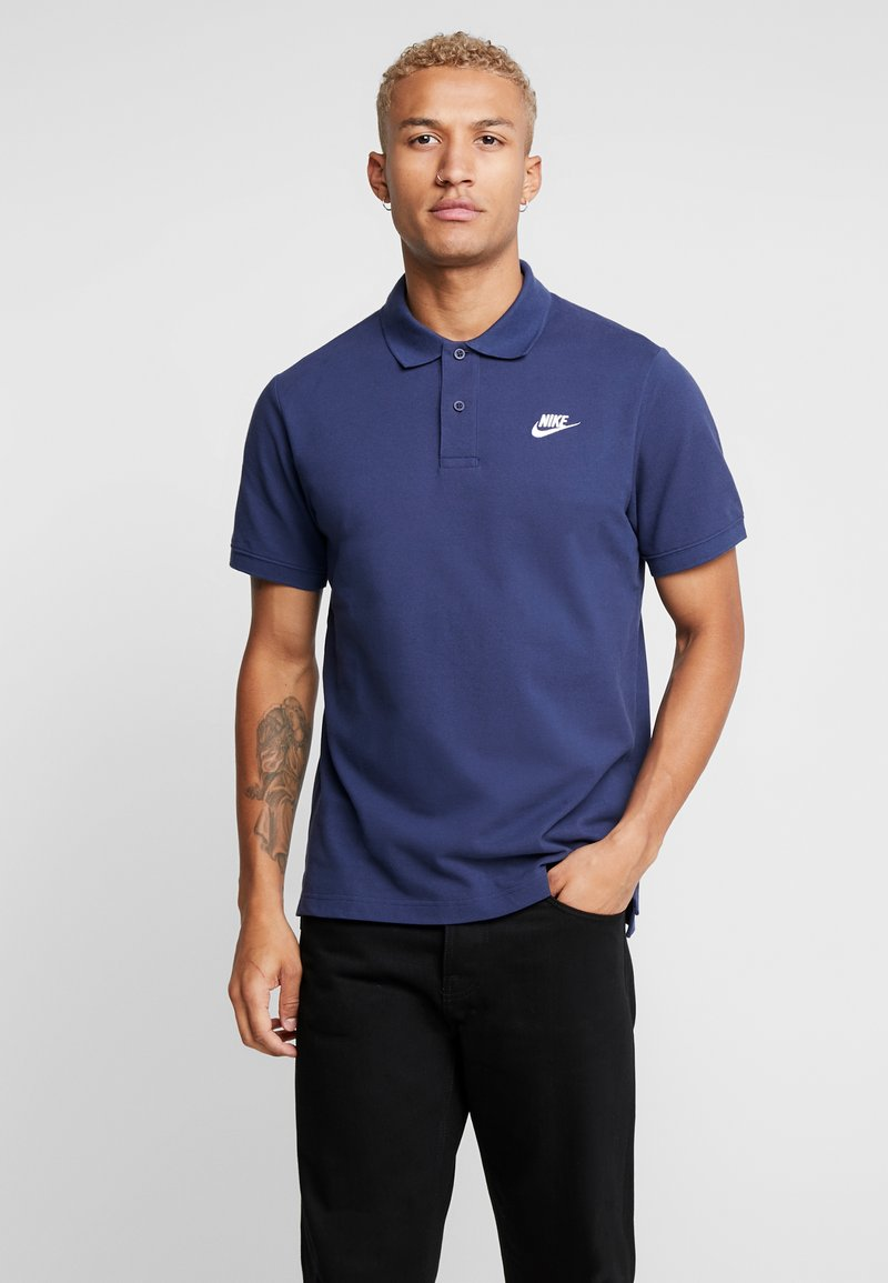 Nike Sportswear - M NSW CE POLO MATCHUP PQ - Polo - midnight navy/white
