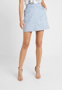 Forever New - TARA SKIRT - A-line skirt - dusty blue - 0
