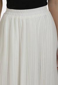 DreiMaster - Áčková sukně - wollweiss - 3