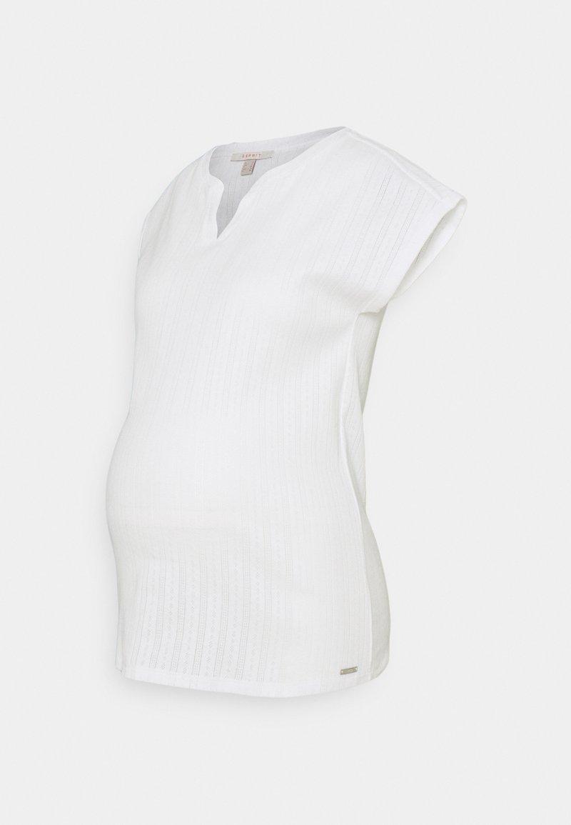 Esprit Maternity - T-shirt z nadrukiem - bright white
