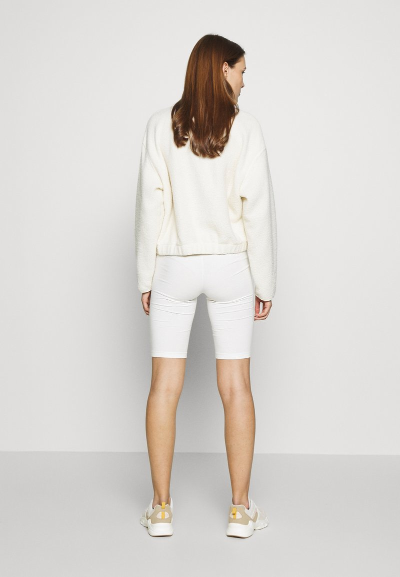 esmé studios - PAM SHORT LEGGINGS - Shorts - white