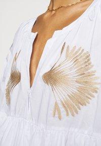 Steffen Schraut - IPANEMA SUMMER TUNIC DRESS - Day dress - white - 6