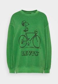 Levi's® - LEVI'S X PEANUTS UNBASIC CREW SWEATSHIRT - Sweatshirt - green - 4