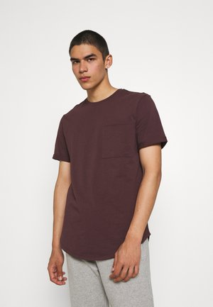ONSGAVIN LIFE TEE - Basic T-shirt - fudge