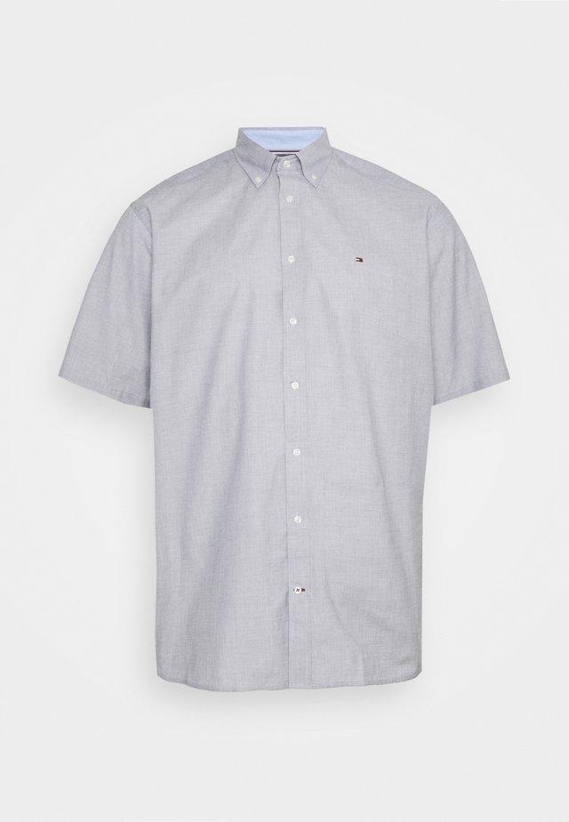 NATURAL SOFT POPLIN - Shirt - carbon navy