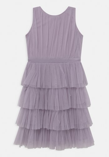 TIERED DRESS - Cocktail dress / Party dress - dusty lilac