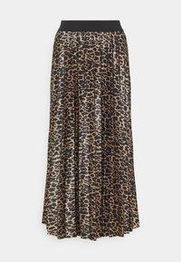 VILA TALL - VINITBAN SKIRT - Pleated skirt - camel - 0