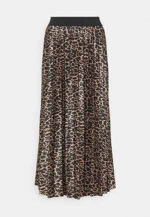 VINITBAN SKIRT - Pleated skirt - camel