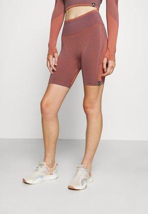 LEGEND SEAMLESS BIKE SHORT - Legging - cinnabar red
