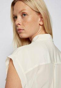 BOSS - Button-down blouse - natural - 4
