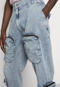 nANA jUDY - REVOLUTION - Pantalon cargo - pale sunbleach - 4