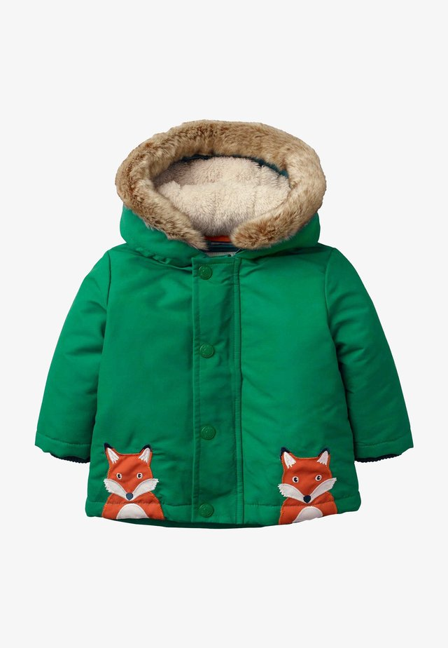 3-IN-1 - Winter jacket - waldgrün, füchse