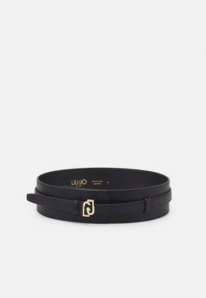 CINTURA BUSTINO LOGO - Belt - nero