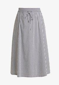 Betty & Co - A-line skirt - white/blue - 3