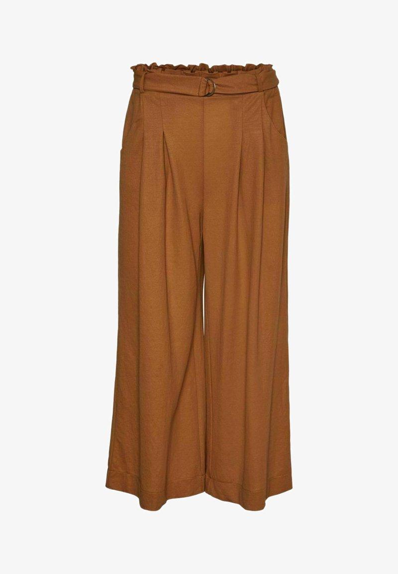 Vero Moda - Trousers - tobacco brown
