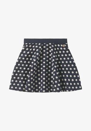 A-line skirt - night sky/blue